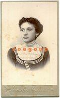 Photo Carte De Visite Emilio Galassi Young Woman Girl Portrait Rafaela Santa Fe Argentina - Anonymous Persons