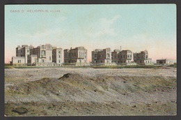 Egypt - Very Rare - Vintage Post Card - Villas In Heliopolis - Cairo - 1866-1914 Khedivate Of Egypt