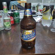 """Belurus-beer Bottles-Light Beer """"Zolotaya-(4%)-(450mil)-good - Beer"""