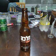 Israel-beer Bottles-malka Pale Ale-new Beer From Iseael-(craft Beer)-(5.5%)-(330mil)-good - Beer