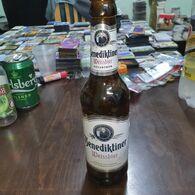 Germany-bottles Beer-(Beer Benedictiner-Duisburg-Germany)-(5.40%)-(330mil)-good - Beer