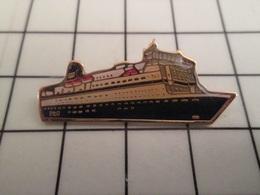 1820 Pins Pin's / Rare & Belle Qualité THEME BATEAUX / CAR FERRY P&O - Barcos