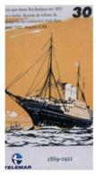 (31-08) Sailig Ship - ネコ -Carte Tephone / Phonecard / Telefonkarte / Carta Telefonica / Tarjeta Telefónica - Bateaux