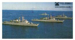 (31-08) Brazil Navy (2 Card) - ネコ -Carte Tephone / Phonecard / Telefonkarte / Carta Telefonica / Tarjeta Telefónica - Bateaux