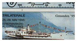 (31-08) Navy On Lake - ネコ -Carte Tephone / Phonecard / Telefonkarte / Carta Telefonica / Tarjeta Telefónica - Bateaux