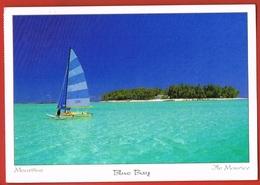 MAURITIUS- ILE MAURICE -Ile Des Deux Cocos  Blue Bay Prés Des Récifs - Circulée Avec Beau Timbre 1997 - Mauritius