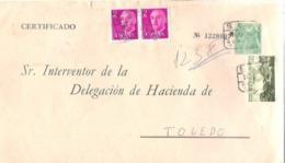 SEP FRANCO CERTIFICADO  GERENA SEVILLA - 1931-....