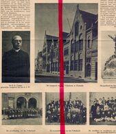 Orig. Knipsel Coupure Tijdschrift Magazine - Oostende - Hulde EH Dr Colens - 1922 - Oude Documenten