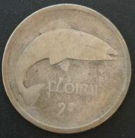RARE - IRLANDE - EIRE - 1 Flóirin / 2 Scilling 1928 - KM 7 - Argent - Silver - IRELAND - Ireland