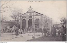 ALGERIE LE TELAGH VUE DU MARCHÉ - Andere Städte