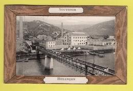 DD / 25 DOUBS / BESANÇON / SOUVENIR DE BESANÇON / USINE OU CASERNE ET PASSERELLE / ANIMÉE / 1912 - Besancon