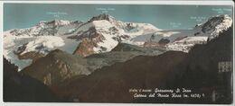 GRESSONEY ST. JEAN CATENA DEL MONTE ROSA VALLE D'AOSTA FORMATO CA. CM. 20 X 9 NON VIAGGIATA - Other Cities