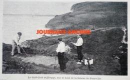 1900 DIEPPE - GOLF CLUB DE DIEPPE - FALAISE DE POURVILLE - TIR AUX PIGEONS - MEETING DE  DIEPPE - Newspapers