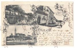RO 23 - 18460 MEDIAS, Sibiu, Litho, Romania - Old Postcard - Used - 1898 - Rumania