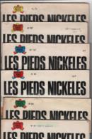 LOT DE 5 B.D.LES PIEDS NICKELES - E.O. - Pieds Nickelés, Les