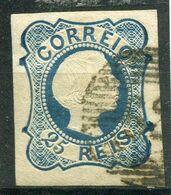 PORTUGAL - Yvert N° 6 I Oblitéré COTE 35E - 1855-1858 : D.Pedro V