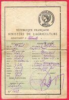 -- PERMIS DE CHASSE DEPARTEMENTAL / DEPARTEMENT Du DOUBS  -- - Fiscali