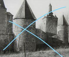 SOMBREFFE Ligny Fleurus Château  1935 1  Photo - Luoghi