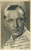 BOXE - SPORT - RARE ACRTE PHOTO DEDICACEE Par Le BOXUR à L' ENTRAINEUR Monsieur DEGALLE -1937 - SIGNATURE à IDENTIFIER P - Boxeo