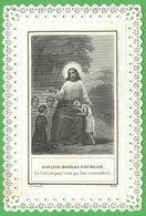 Santino Merlettato Enfantes Modeles D'Umilitè Letaille Paris (4001) - Images Religieuses