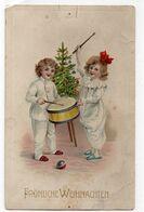 DC3539 - Fröhliche Weihnachten Kinder Trommeln Weihnachtsbaum - Otros