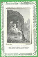 Santino Merlettato Visite A Jesus Force Des Martyrs Letaille (4006) - Images Religieuses