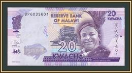 Malawi 20 Kwacha 2019 P-63 (63e) UNC - Malawi