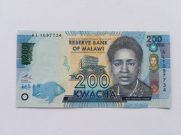 MALAWI 200 KWACHA 2012 - Malawi