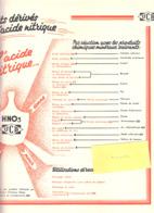 Lot De 7 Feuillets-Publicité+/-1950-Union Chimique Belge-UCB-différents Produits Commercialisés Par La Firme UCB (scans) - Werbung