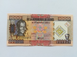 GUINEA 1000 FRANCS 2010 - Guinea