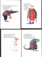7 Cartes Campagne Contre Drogue Drug Abuse Animaux Animals Zocard Singapour 2002 - Other