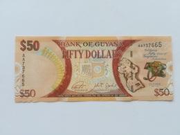 GUYAN 50 DOLLARS 2016 - Guyana