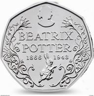 UK GREAT BRITAIN - GRANDE BRETAGNE - Großbritannien - Gran Bretagna 50 PENCE BEATRIX POTTER - PETER RABBIT UNC 2016 - 50 Pence