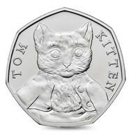 UK GREAT BRITAIN - GRANDE BRETAGNE - Großbritannien - Gran Bretagna 50 PENCE BEATRIX POTTER - TOM KITTEN UNC 2017 - 50 Pence