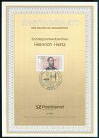 BRD - 1994 ETB 02/1994 - Mi 1710 - 200Pf            Heinrich Hertz            2/1994 - [7] Federal Republic