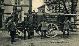 LAUSERABWEHRKANONE DEPOUILLEUSE De ST HILAIRE LE PETIT Läuseabwehrkanone 1914/15 WWI WWICOLLECTION - Guerra 1914-18