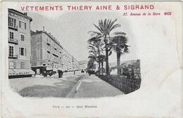 06  Nice  Quai Massena - Nizza