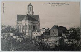 85 - SAINT ETIENNE DU BOIS (Vendée) - Chevet De L'Eglise - Francia