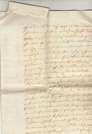 1790 Manuscrit à Découvrir En 4 Pages + Un Document Lié - Manuscripts