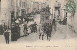 Vernet-la-Varenne -- Départ De Sabatier - Frankreich