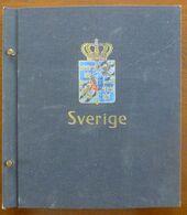 Sweden/Zweden/Sverige 1858-1975 In Davo Album - Colecciones (en álbumes)