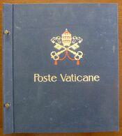 Vaticaan/Poste Vaticane 1955-2000 Mint Hinged/Neuf Avec Charniere/mit Falz/met Plakker In Davo Album - Sammlungen (im Alben)