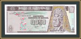 Guatemala 1/2 кетцaля 1996 P-96 (96a) UNC - Guatemala