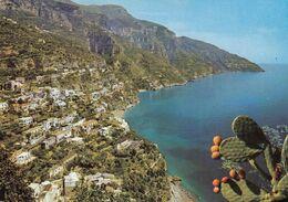 POSITANO-SALERNO-PANORAMA-CARTOLINA VERA FOTOGRAFIA VIAGGIATA IL 29-7-1968 - Salerno