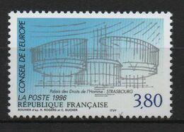Timbre France Neuf De 1996 N° Service 4  Conseil De L'Europe 3,80 - Neufs