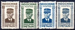 Indochine: Yvert N° 243/248; 4 Valeurs - Ungebraucht
