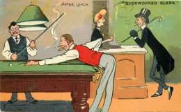 Fantaisie - Tom Browne - Série N° 2590 - Overworked Clerk - Andere Illustrators