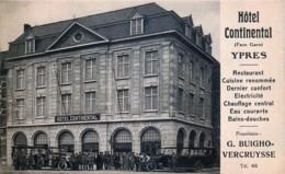 Ypres - Hôtel Continental - Ieper