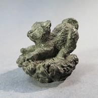 * MIINI CHAT EN FONTE - Animal Sculpture - Sculptures