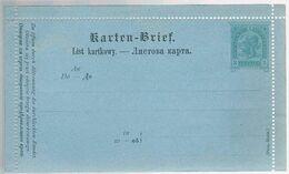 Austria, Karten-Bief - Storia Postale